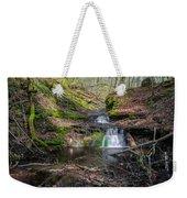 Waterfall At Parfrey's Glen Weekender Tote Bag