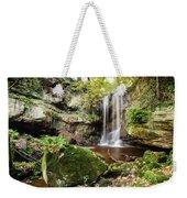 Waterfall At Roughting Linn Weekender Tote Bag