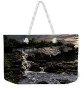 Waterfall At Sunrise Weekender Tote Bag by Bob Orsillo