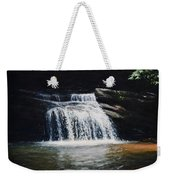 Waterfall At Table Rock National Forest Weekender Tote Bag