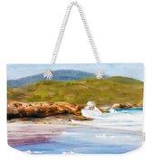 Waterfall Beach Denmark Painting Weekender Tote Bag