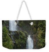 Waterfall, Chile Weekender Tote Bag
