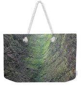 100453-waterfall Chute  Weekender Tote Bag