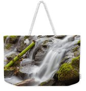 Waterfall Close Up In Marlay Park Weekender Tote Bag