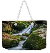 Waterfall Great Smoky Mountains  Weekender Tote Bag