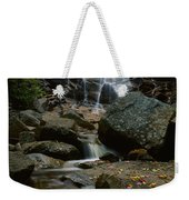 Waterfall In A Forest, Arethusa Falls Weekender Tote Bag