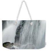 Waterfall In Spring Weekender Tote Bag