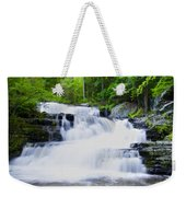 Waterfall In The Pocono Mountains Weekender Tote Bag
