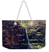 Waterfall In The Valley Weekender Tote Bag