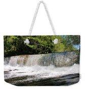 Waterfall In Woodstock Vermont Weekender Tote Bag