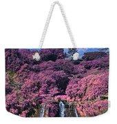 Waterfall Kauai Hawaii  Weekender Tote Bag