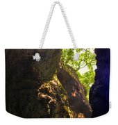 Waterfall Mountain Weekender Tote Bag