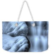 Waterfall Near Johnston Canyon Alberta Weekender Tote Bag