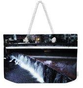 Waterfall New Hope Pa Weekender Tote Bag