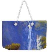 Waterfall New Zealand Weekender Tote Bag