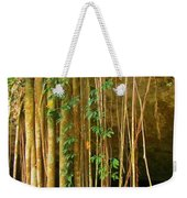 Waterfall Of Jungle Tree Roots Weekender Tote Bag