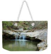 Waterfall On Piney Creek Weekender Tote Bag