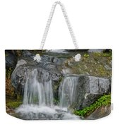 Waterfall On The Paradise River Weekender Tote Bag