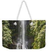 Waterfall On The Road To Hana Weekender Tote Bag