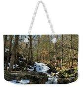 Waterfall Rush Weekender Tote Bag