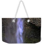 Waterfall Spray Weekender Tote Bag