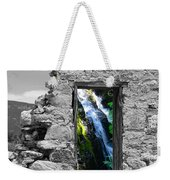 Waterfall Through The Magic Door Weekender Tote Bag