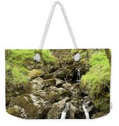 Waterfall Through Woodland Weekender Tote Bag