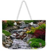 Waterfall Weekender Tote Bag by Tom Prendergast