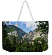 Waterfall, Yosemite Valley, Yosemite Weekender Tote Bag