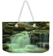 Waterfalling Through Ricketts Glen Weekender Tote Bag