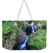 Waterfalls And Pools Maui Hawaii Weekender Tote Bag