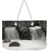Waterfalls On Nigel Creek Weekender Tote Bag