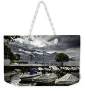 Waterfront At Ascona Weekender Tote Bag