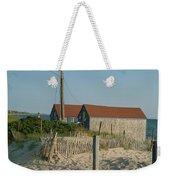 Waterfront Beach Cottages Weekender Tote Bag