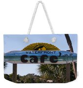 Waterfront Cafe Weekender Tote Bag