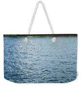 Waterfront Colors Weekender Tote Bag