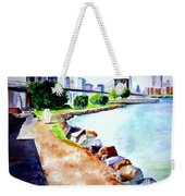 Waterfront In Dumbo Weekender Tote Bag