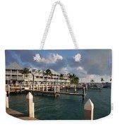 Waterfront Key West Weekender Tote Bag