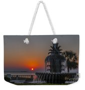 Waterfront Park Sunrise Weekender Tote Bag