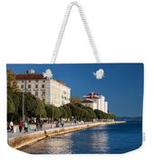 Waterfront Promenade In Zadar Weekender Tote Bag