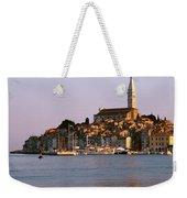 Waterfront, Rovinj, Croatia Weekender Tote Bag