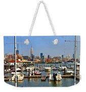 Waterfront View Hoboken Weekender Tote Bag