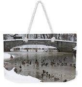 Watering Hole Ducks Only Weekender Tote Bag