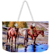 Watering The Horses Weekender Tote Bag