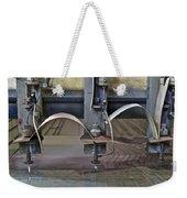 Waterjet Cutter Weekender Tote Bag