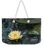 Waterlilly 1 Weekender Tote Bag