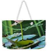 Waterlily Whimsy Weekender Tote Bag
