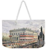 Waterloo Place And Pall Mall Weekender Tote Bag