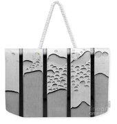 Watermarked Weekender Tote Bag
