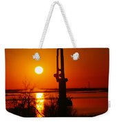 Waterpump In The Sunrise Weekender Tote Bag by Jeff Swan